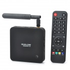 Q8 RK3288 Quad-Core Android 4.4 Google TV Player w/ 2GB RAM, 8GB ROM, Antenna, US Plug - Black