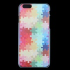 "Ultra-thin Embossed Protective Plastic Back Cover Case for 4.7"" IPHONE 6 - Multicolor"