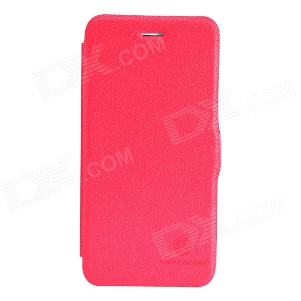 NILLKIN Fresh Series Protective PU + PC Case for IPHONE 6 (4.7) - Red nillkin star series protective case for moto g2 pink