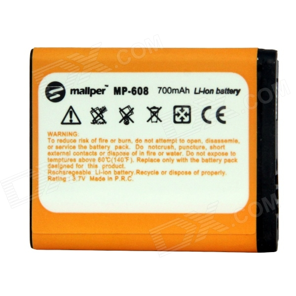 Mallper Replacement 3.7V 700mAh Li-ion Battery for Samsung M608 / E748 / G618 / J608 + More timex t2p236