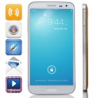 "G9000 MTK6592 Octa-Core Android 4.2.2 WCDMA Bar Phone w/ 5.3"" IPS, 8GB ROM, OTG, GPS - White + Gold"