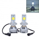 AX-4HL-H4-3200LM H4 36W 3200lm 6500K 2 x Cree-Custom-Made White Light Car Headlight (DC12~24V)