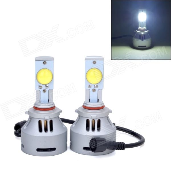 AX-4HL-9005-3200LM 9005 36W 3200lm 6500K Cree-Custom-Made White Car Headlight (DC12~24V / 2PCS) - DXCar LED Bulbs<br>Beam angle: 180 degree; Input: L: 2.6A +/- 0.2A; Lumens: H: 3200lm - Energy saving - Advance high luminance as HID - Adopted latest technology high power LED chip - 12~24V constant current driver; Over voltage protection - Excellent heat resistance shockproof durable performance<br>