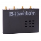 D58-4 4-CH Diversity Receiver / 5.8GHz 4-Channels Receiver for FPV Aerial Photography