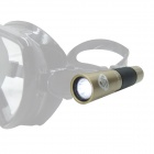 EZDIVE 3W 300lm White Diving Flashlight w/ Cree XP-G2 R3 - Golden (1 x 14650 / 100m Waterproof)
