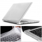 "Mr.northjoe PC Full Body Case + Keyboard Cover + Anti-dust Plugs for MACBOOK PRO 15.4"" - Transparent"