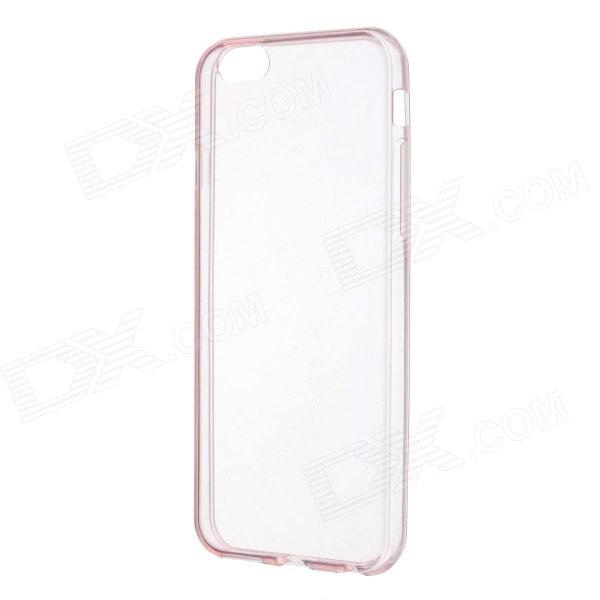 Stylish Ultra-thin Protective TPU Back Case Cover for 4.7 IPHONE 6 - Translucent Pink stylish ultra thin protective tpu back case cover for 4 7 iphone 6 translucent pink