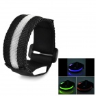 LB-1 LED RGB Light Sports Wristband - Black (25cm / 2 x CR2016)