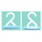 PP Bag Sealing Clip Hanger - Light Blue (2 Pcs)