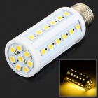 E-844 E27 8W 1200lm 3300K 44-SMD 5050 LED Warm White Corn Lamp - White + Yellow (110~220V)
