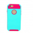 "Caso 2-en-1 desmontable PC protectora + TPU para 4.7 ""IPHONE 6 - Green + Pink"
