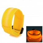 LY-1 LED Yellow Light Sports Wristband - Yellow (21cm / 2 x CR2016)