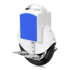 EYU.CO V1 Electric Balancing Unicycle Wheelbarrow Monocycle - White + Blue