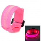 LP-1 LED Pink Light Sports Wristband - Pink (25cm / 2 x CR2016)