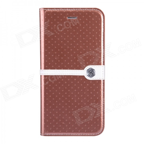 NILLKIN Ice Series Stylish Polka Dot Stitching Flip-open PU Leather Case w/Stand for IPHONE 6 (4.7)