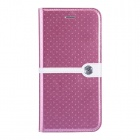 "NILLKIN Ice Series Stylish Polka Dot Stitching Flip-open PU Leather Case w/Stand for IPHONE 6 (4.7"")"