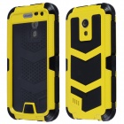 Redpepper Waterproof Shockproof Dirtproof Aluminum Alloy Case for Samsung Galaxy S4 MINI - Yellow