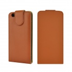"Angibabe Flip Up & Down PU Leather Cover Case Bag for IPHONE 6 4.7"" - Brown"