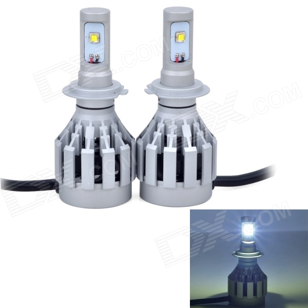 AX-3HL-H7 26W 2000lm 6500K 2 x Cree XM-L2 White Light Car Headlight / Foglight (DC12~24V / 2PCS)