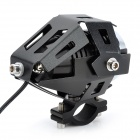 30W 2500lm Cool White 3-Mode LED Car Headlamp - Black (DC 12~80V)