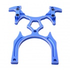 Aluminum Transmitter Stand Holder for Diameter 5mm Remote Handle R/C TX - Blue