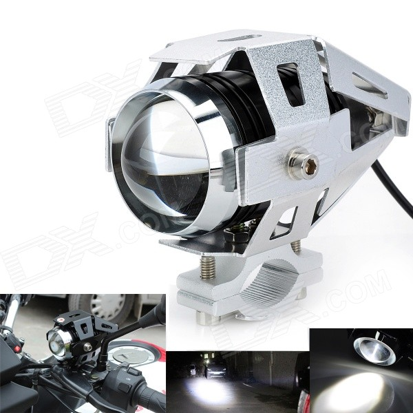 Marsing U5 Waterproof 30W 2500lm 6500K 3-Mode LED Cool White Car Headlight - Silver (DC 12~80V)