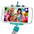 Universal Handheld Selfie Stick Monopod for IPHONE, Samsung, Xiaomi + More - Light Green