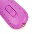 MT-032 1W White Light LED Keychain - Purple (3 x LR41)