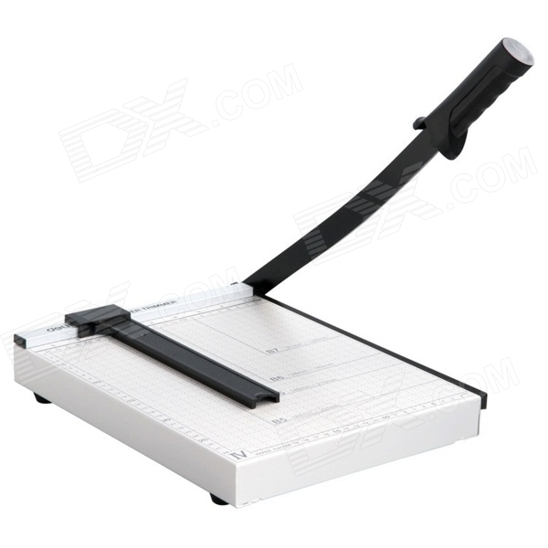Steel Paper / Card Cutter / Knife - White + Black