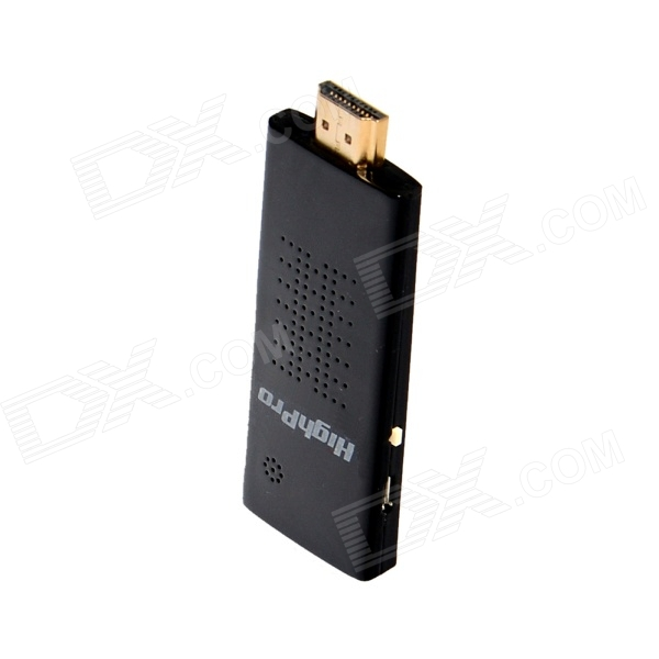HighPro HDMI Wireless Wi-Fi Display TV Dongle Airplay Miracast Receiver - Black