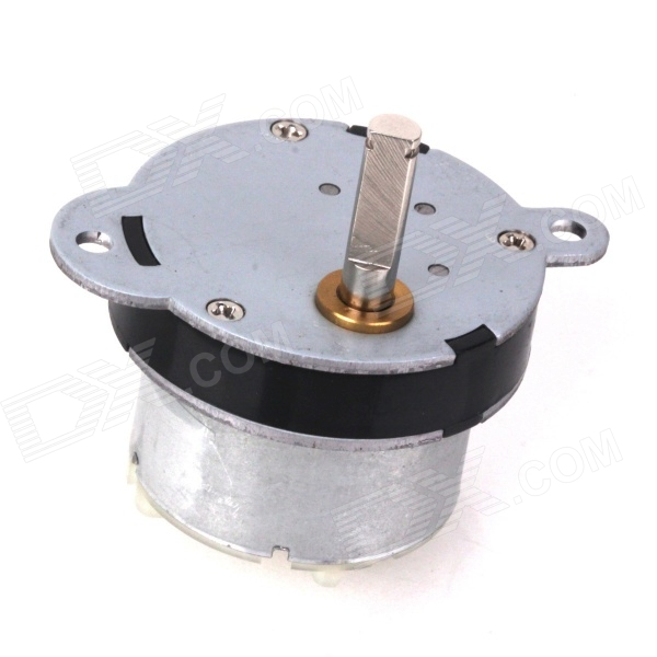 ZnDiy-BRY 130RPM 230mA 40mm DC 12V Replacement Torque Gear Box Motor zndiy bry dc 12v 3 5rpm 37mm high torque gear box electric motor silver