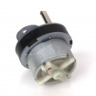 ZnDiy-BRY 130RPM 230mA 40mm DC 12V Replacement Torque Gear Box Motor