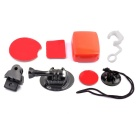PANNOVO Sports Ski / Surf Board Mount Set for Gopro Hero 4/ 2 / 3 / 3+ / SJ4000