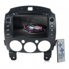 "KLYDE KD-8002 8"" Android 4.2.2 Dual-Core Car DVD Player w/ GPS Navigator / WiFi for Mazda - Black"