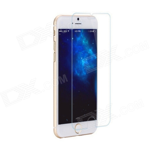 Protective 0.3mm Arc Tempered Glass Screen Protector for 4.7 IPHONE 6 - Transparent benks magic kr pro 0 15mm 3d curved tempered glass screen protector for iphone 6s plus 6 plus full cover white