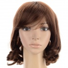 SYSH005 Fashion Tilted Frisette Short Pear Wig - Linen Yellow