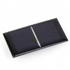ZnDiy-BRY HYT66-33 0.225W 0.5V 450mA Solar Panel - Black (66 x 33mm)