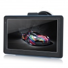 "6.9"" Capacitive Screen Win CE 6.0 Car GPS Navigator w/ Multinational Map - Black"