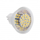 MR16 5W 160lm 3000K 50-SMD 3020 LED Warm White Light Lamp - White + Silver (AC 12V)