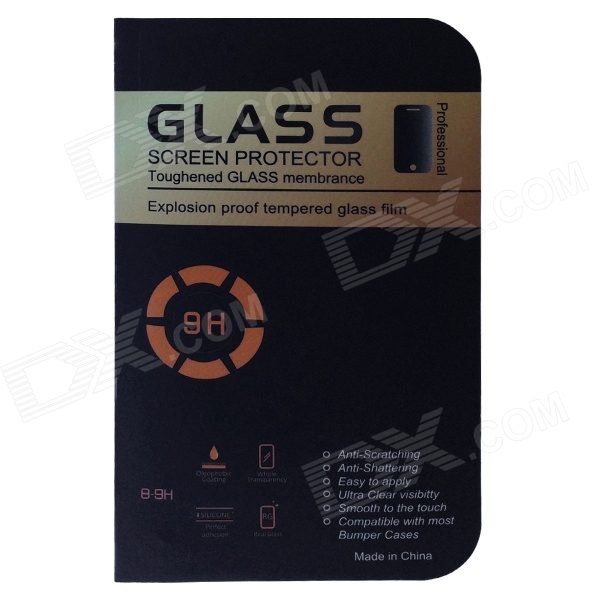 0.3mm 2.5D 9H Tempered Glass Film Screen Protector for Samsung i9200 / Galaxy Mega 6.3 - Transparent