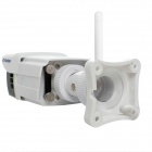 Cámara SunEyes SP-P701W 720p 1.0MP HD Wireless IP al aire libre w / TF, audio de 2 vías, IR, ONVIF - Blanco