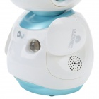 OU-FS8 Multifunctionele Vroege jeugd onderwijs Music Robot Toy w / Interaction / LED - Wit + Blauw