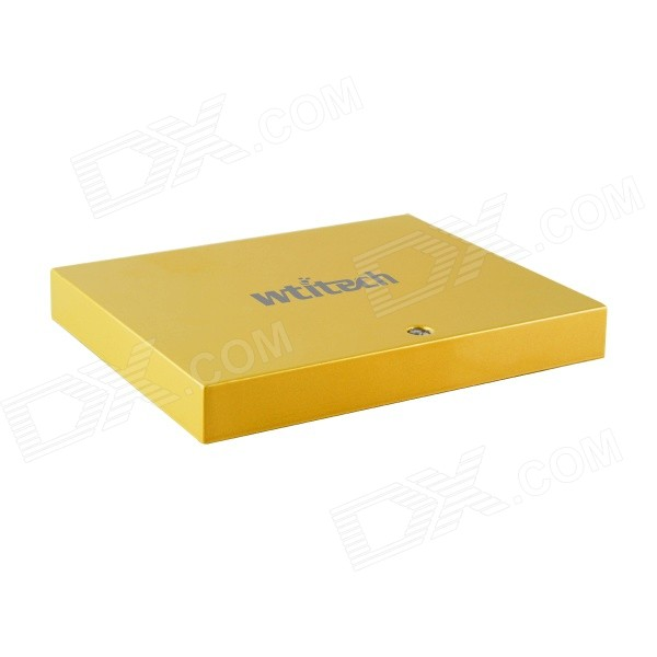 Wtitech Win8 32 Quad-Core Intel Bay Trail-T Z3770 Mini Desktop PC Host w/ Wi-Fi / Bluetooth - Yellow
