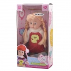 "NEJE ST0006-3 8"" Stylish Lovely Vinyl Baby Doll Toy - Pink"
