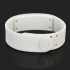 W2 USB inteligente LED Wrist Band w / Tiempo / Calorías / podómetro 3D / Temperatura / Sleep Monitor - Blanco
