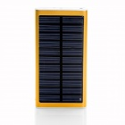 SP2600 Universal Outdoor 5V 2600mAh Li-ion Polymer Solar Power Bank Charger - Golden