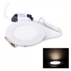 JoYda M120Y 6W 580lm 3200K 2835 SMD 30 LED Warm White Light Ceiling Lamp - White (AC 85-260V)