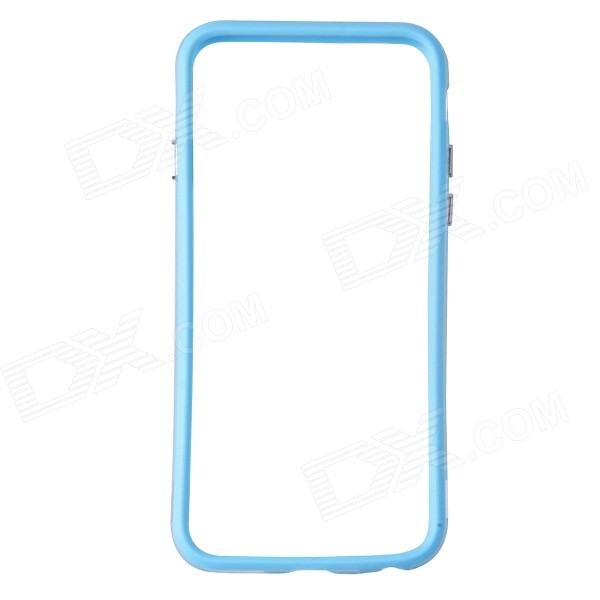 Protective TPU + PC Bumper Frame for 4.7 IPHONE 6 - Light Blue + TransparentPlastic Cases<br>Form ColorLight Blue + TransparentBrandN/AQuantity1 DX.PCM.Model.AttributeModel.UnitMaterialTPU + PCShade Of ColorBlueCompatible ModelsIPHONE 6DesignMixed ColorStyleBumper CasesPacking List1 x Bumper case<br>