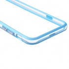 "TPU protector + PC del capítulo de parachoques de 4,7 ""IPHONE 6 - Blue Light + Transparente"