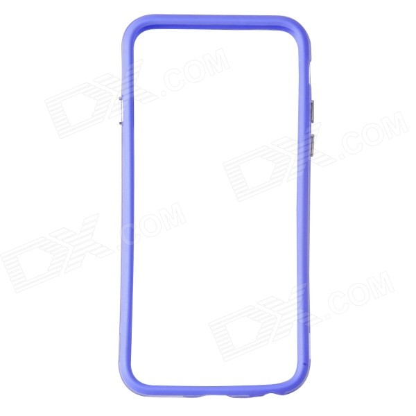 Protective TPU + PC Bumper Frame for 4.7 IPHONE 6 - Purple + TransparentPlastic Cases<br>Form  ColorBlue Purple + Translucent WhiteBrandN/AQuantity1 DX.PCM.Model.AttributeModel.UnitMaterialTPU + PCShade Of ColorPurpleCompatible ModelsIPHONE 6DesignMixed ColorStyleBumper CasesPacking List1 x Bumper case<br>